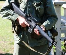 M-16 RIFLE SCOTT VINCENT USMC