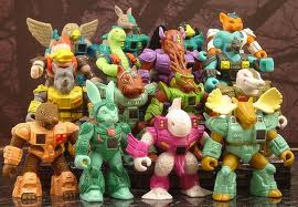 battle beasts animals that represented the elements earth wind water fire